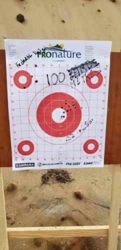 Savage axis II heavy barrel 6.5 Creedmoor 20201011