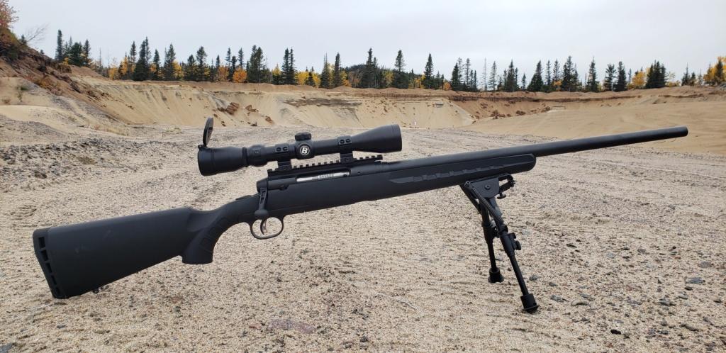 Savage axis II heavy barrel 6.5 Creedmoor 20201012