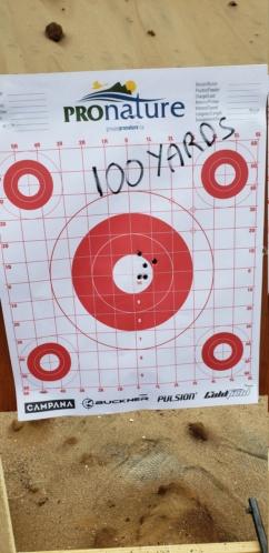 Savage axis II heavy barrel 6.5 Creedmoor 20201013