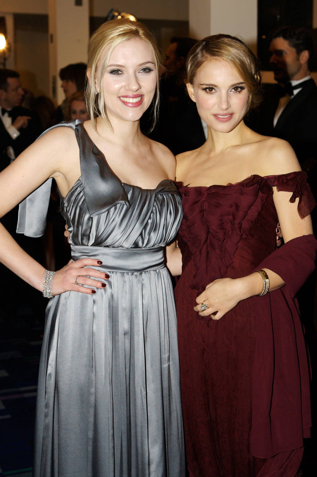 ¿Cuánto mide Scarlett Johansson? - Altura - Real height 79842210