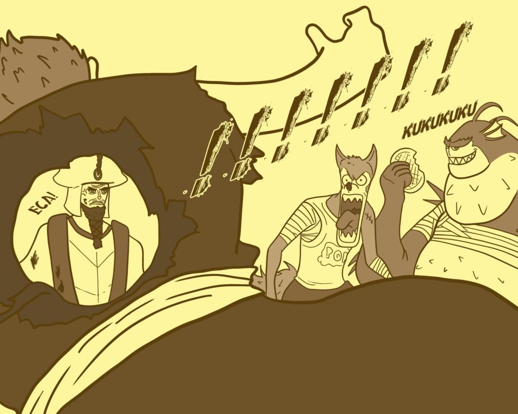 Cabras da Peste, vol 2- Tacando merda no ventilador - Página 6 Oco110