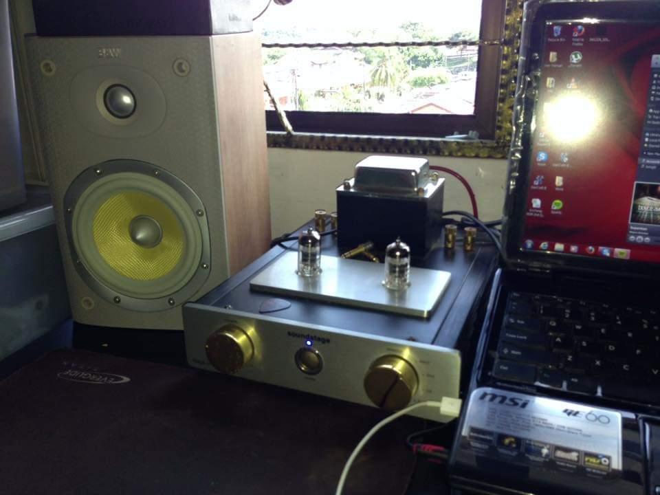 B&W DM600 S3 & Soundstage Tube amp  14322210
