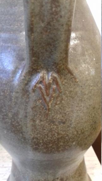MV Mark stoneware with cork tap ID please 20210610