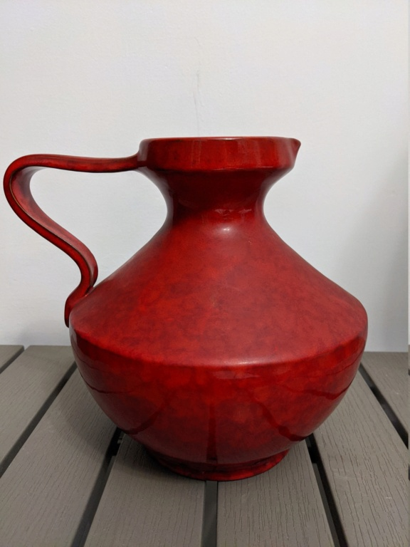 bright red pitcher  Pxl_2021
