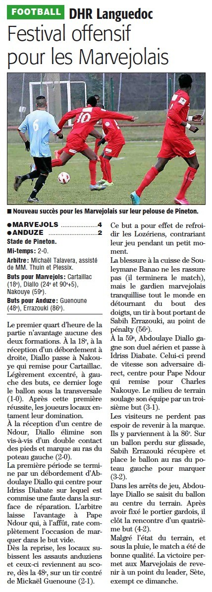 MARVEJOLS / Anduze Anduze10