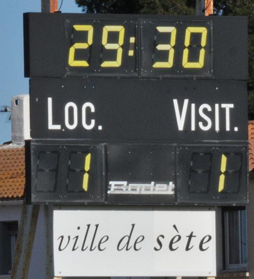 FC Sète / MARVEJOLS Asete112