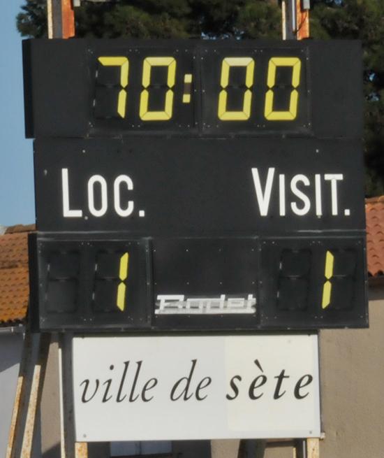 FC Sète / MARVEJOLS Asete119