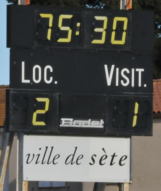 FC Sète / MARVEJOLS Asete212