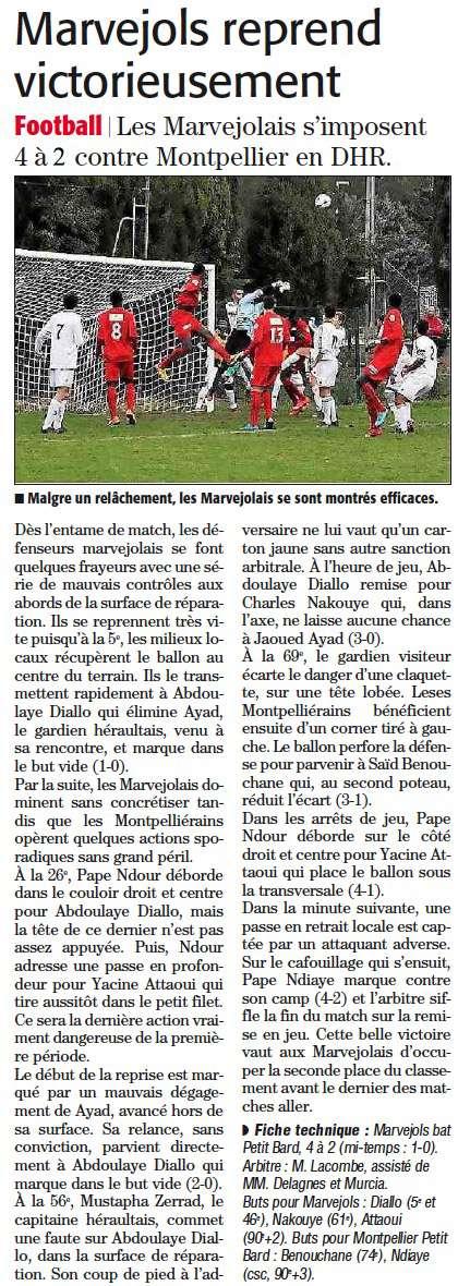 MARVEJOLS / P. Bard Montpellier Bardal10