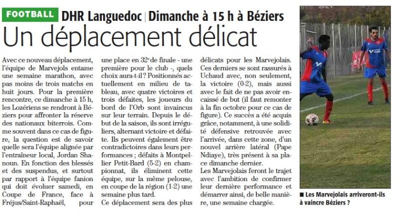 AS Béziers / MARVEJOLS Bezier10