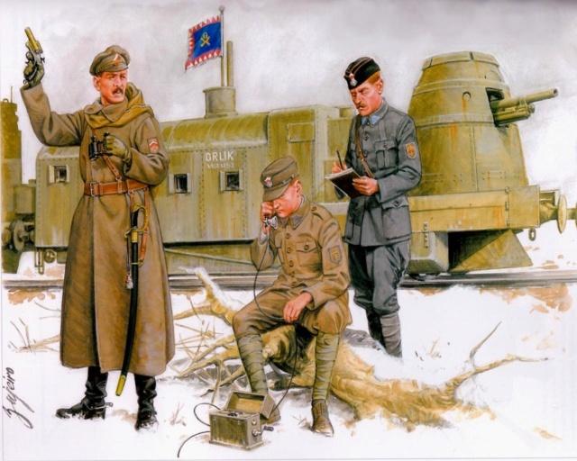 Train blindé Orlik des légions tchéques WW1, papier+Märklin Ob_e0710