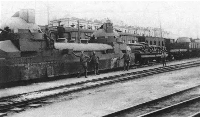 Train blindé Orlik des légions tchéques WW1, papier+Märklin Orlik_10