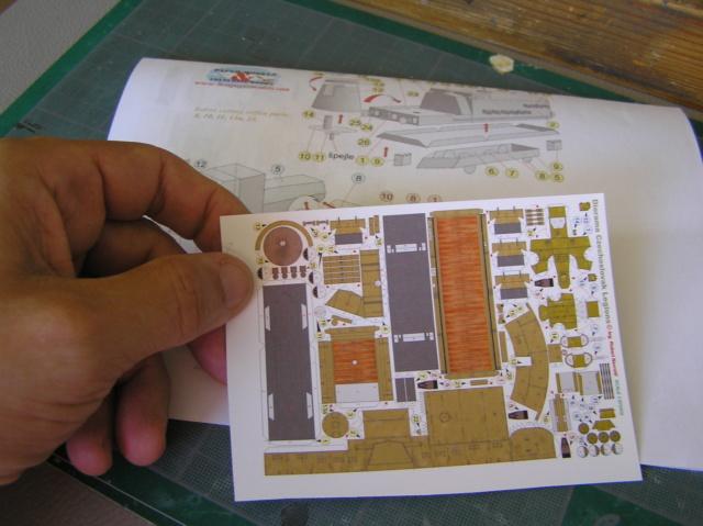 Train blindé Orlik des légions tchéques WW1, papier+Märklin P9280010