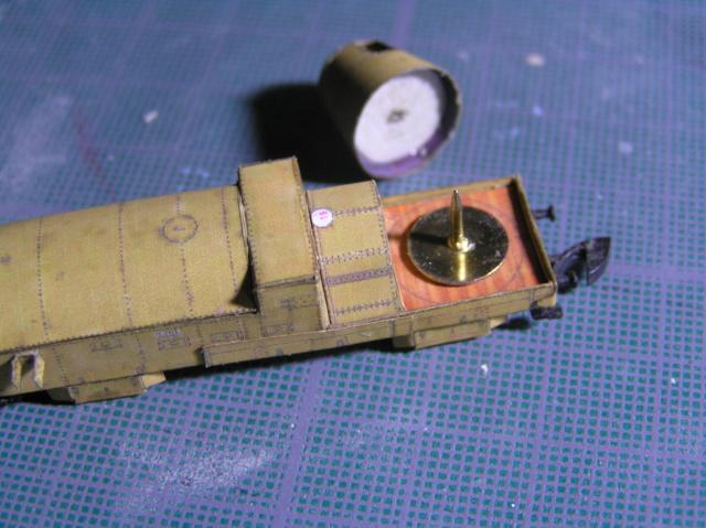 Train blindé Orlik des légions tchéques WW1, papier+Märklin P9300014