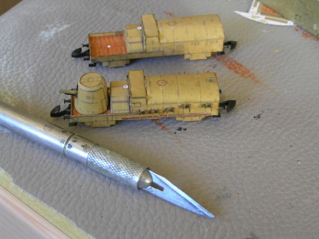 Train blindé Orlik des légions tchéques WW1, papier+Märklin Pa030012