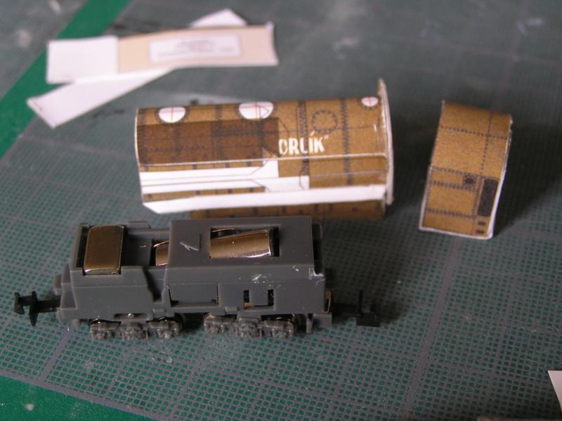 Train blindé Orlik des légions tchéques WW1, papier+Märklin Pa070010