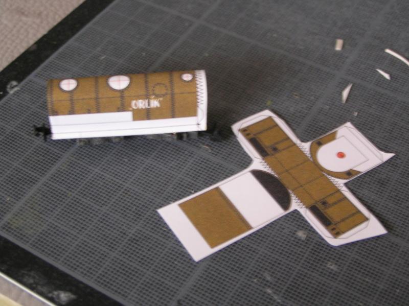 Train blindé Orlik des légions tchéques WW1, papier+Märklin Pa100013