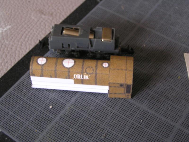 Train blindé Orlik des légions tchéques WW1, papier+Märklin Pa100014