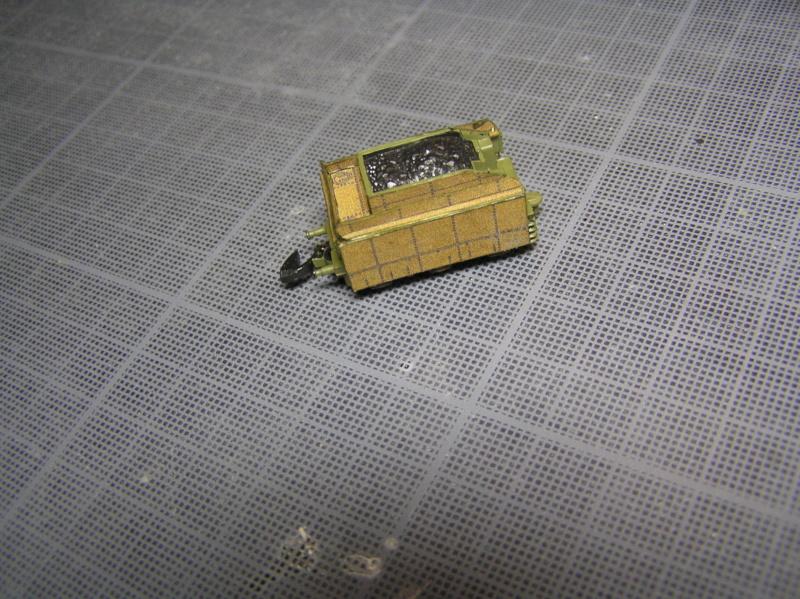 Train blindé Orlik des légions tchéques WW1, papier+Märklin Pa110011