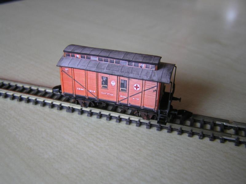 Train blindé Orlik des légions tchéques WW1, papier+Märklin - Page 5 Pc160015