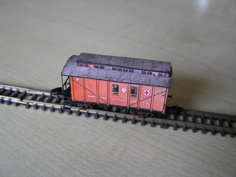 Train blindé Orlik des légions tchéques WW1, papier+Märklin - Page 5 Pc160017