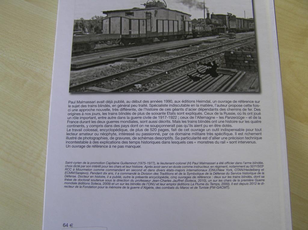 Les trains blindés de 1828 à nos jours de Paul Malmassari! Pc290019