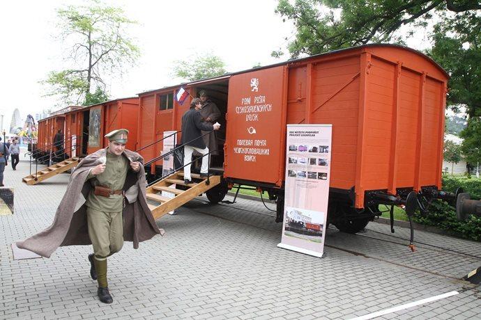 Train blindé Orlik des légions tchéques WW1, papier+Märklin - Page 5 Postes10