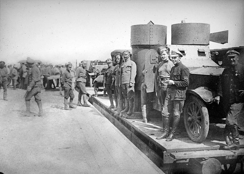 Train blindé Orlik des légions tchéques WW1, papier+Märklin Wagon_10