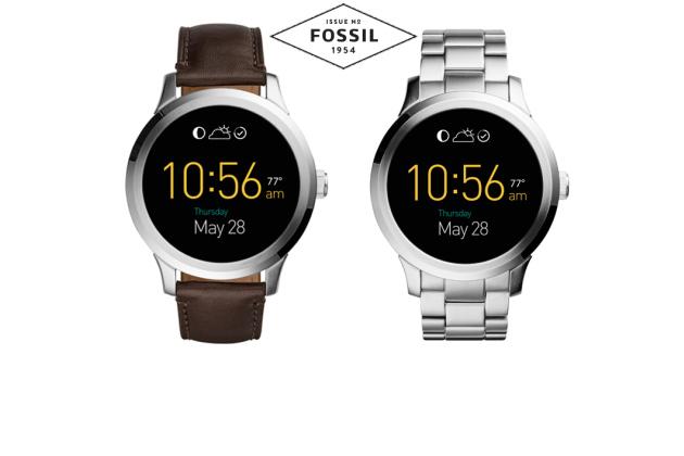 Actu: L'horloger Fossil lance sa montre connectée Android Wear à moins de 300 € 516fa510