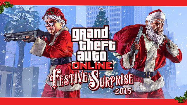 GTA Online : La Surprise Festive de 2015  Actual10