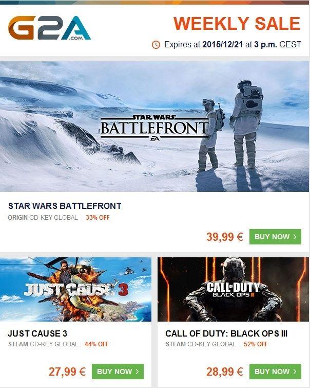 G2A - Offres jeux PC jusqu'au 21.12.2015 Captur12