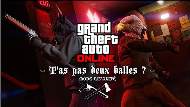 """GTA Online : """"T'as pas deux balles ?"""", le nouveau mode rivalité, disponible dès à présent Cid_im12"""
