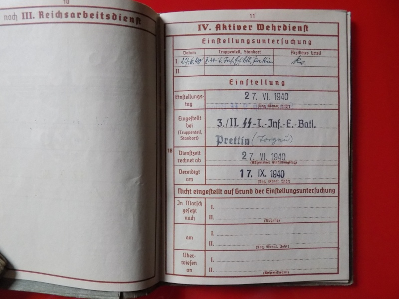 Vos livrets militaires allemands WWII (Soldbuch, Wehrpass..) / Heer-LW-KM-SS... - Page 3 Lening15