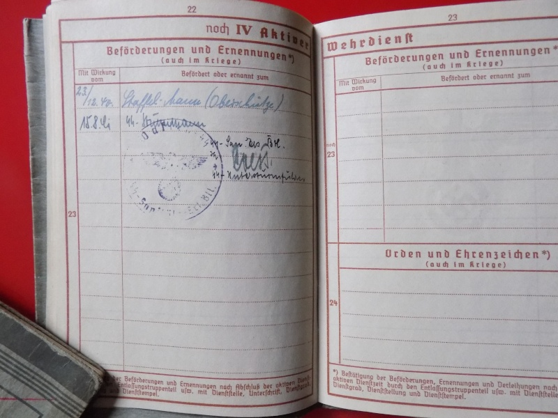 Vos livrets militaires allemands WWII (Soldbuch, Wehrpass..) / Heer-LW-KM-SS... - Page 3 Lening18