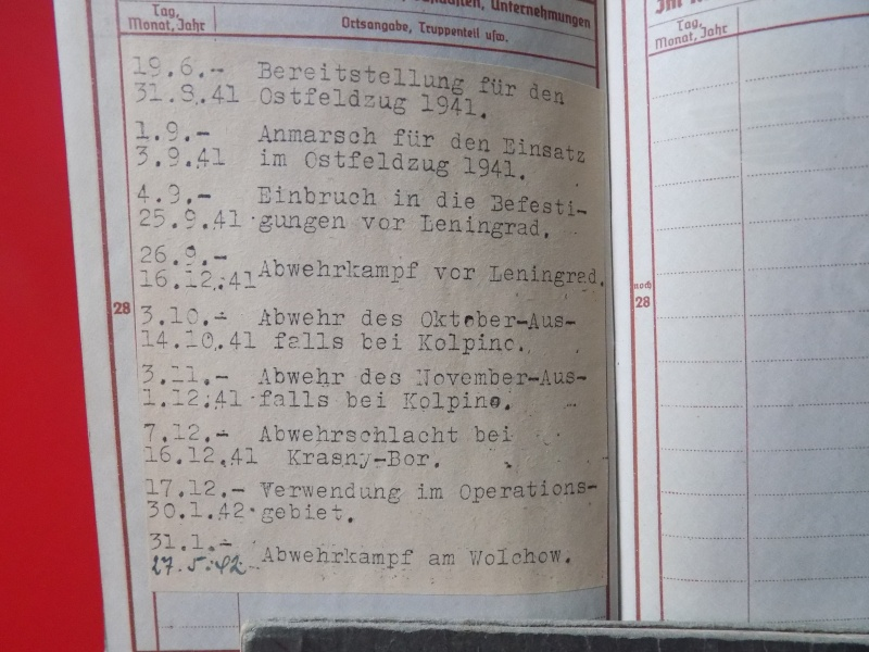 Vos livrets militaires allemands WWII (Soldbuch, Wehrpass..) / Heer-LW-KM-SS... - Page 3 Lening19