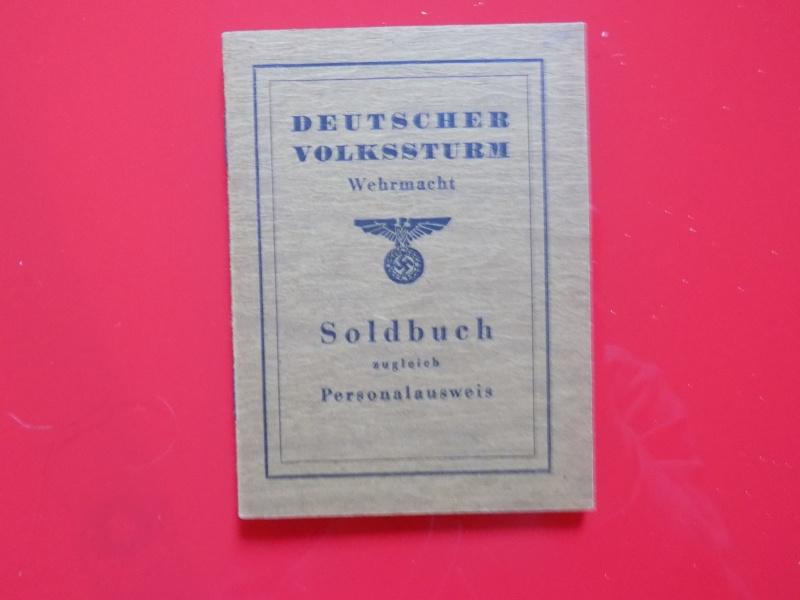 Vos livrets militaires allemands WWII (Soldbuch, Wehrpass..) / Heer-LW-KM-SS... - Page 2 Soldbu10