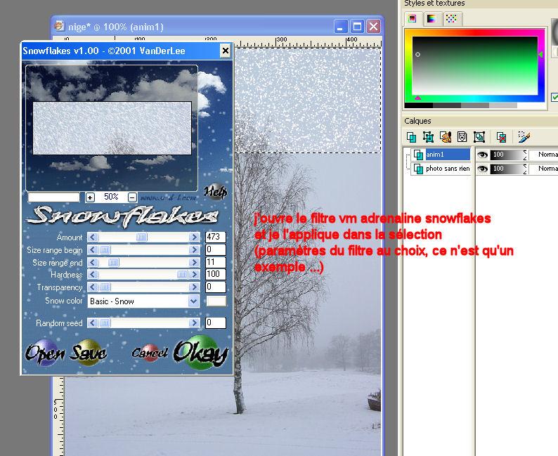 modèles d'effet des filtres Image410