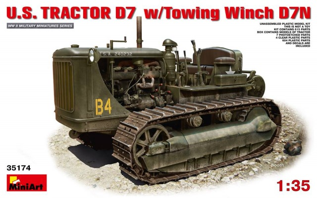 Miniart US tractor D7N 1/35 68285310