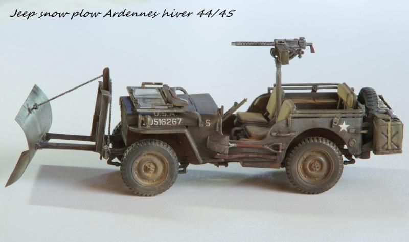 Jeep snow plow - Base Tamiya + conversion Minor Models et Plus Model - 1/35 - Page 2 Imgp6567