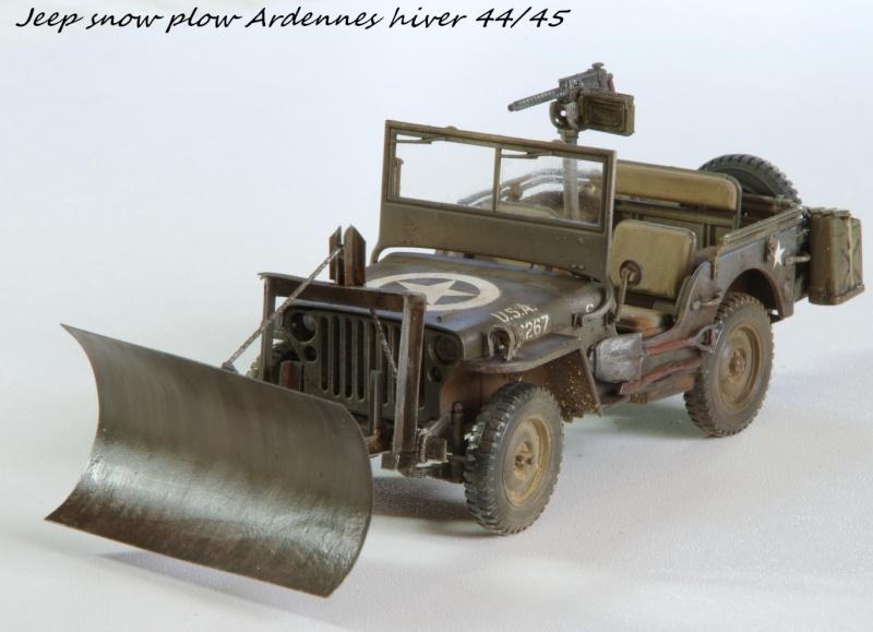 Jeep snow plow - Base Tamiya + conversion Minor Models et Plus Model - 1/35 - Page 2 Imgp6568
