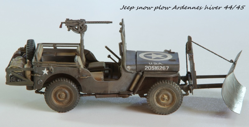 Jeep snow plow - Base Tamiya + conversion Minor Models et Plus Model - 1/35 - Page 2 Imgp6569