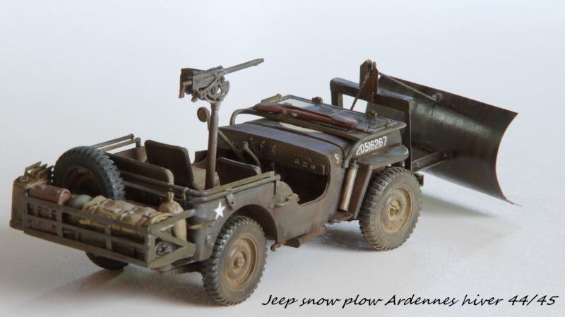 Jeep snow plow - Base Tamiya + conversion Minor Models et Plus Model - 1/35 - Page 2 Imgp6570
