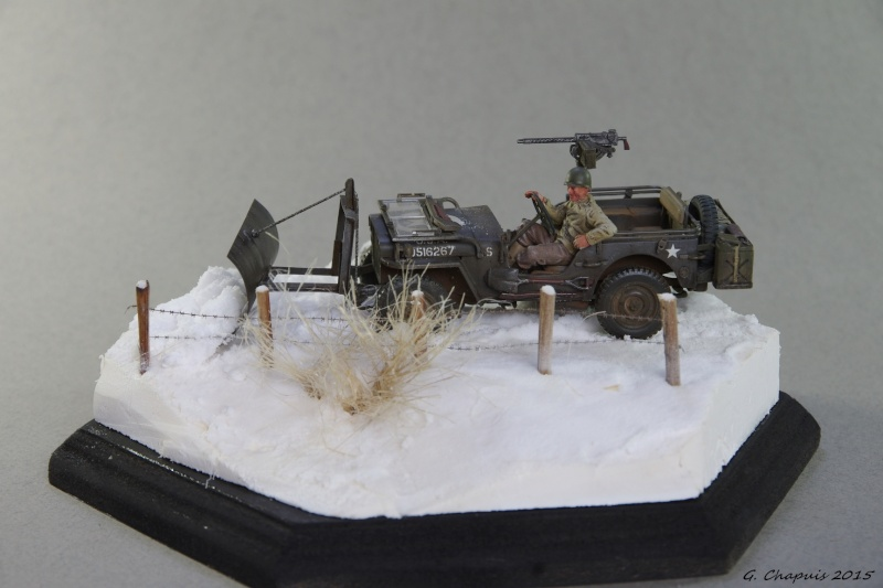 Jeep snow plow 1/35 Ardennes Hiver 44/45 Imgp6610