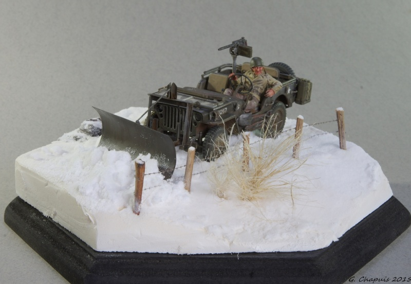 Jeep snow plow 1/35 Ardennes Hiver 44/45 Imgp6611