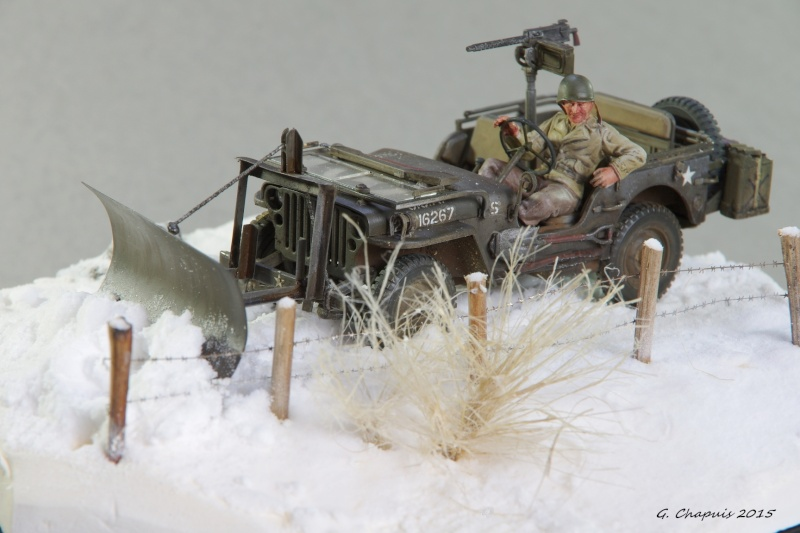 Jeep snow plow 1/35 Ardennes Hiver 44/45 Imgp6614