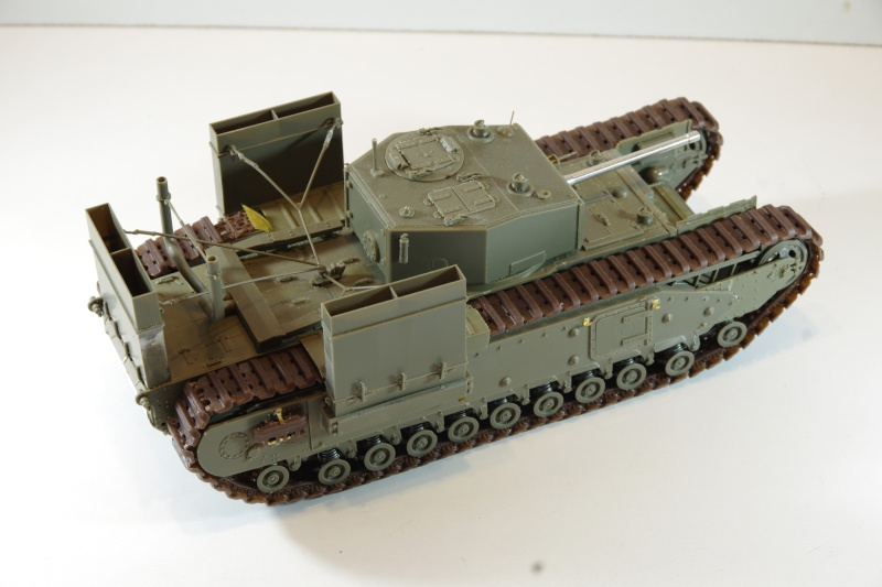 AFV Club Churchill MK III 1942 Dieppe 1/35 Imgp6633