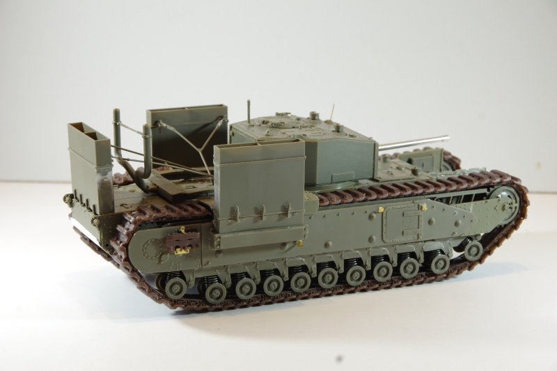 AFV Club Churchill MK III 1942 Dieppe 1/35 Imgp6634