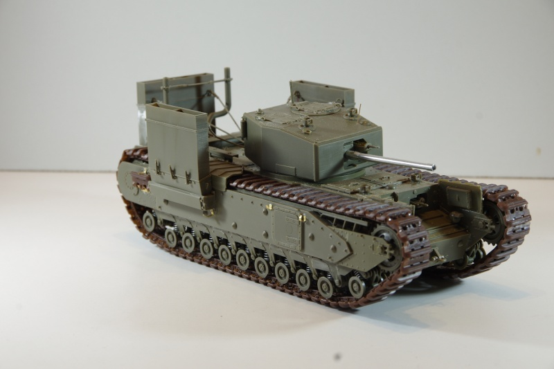 AFV Club Churchill MK III 1942 Dieppe 1/35 Imgp6635