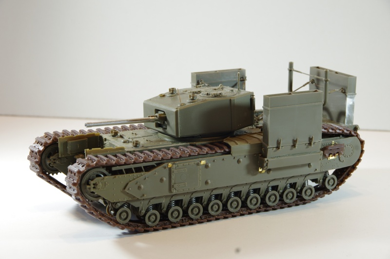 AFV Club Churchill MK III 1942 Dieppe 1/35 Imgp6636
