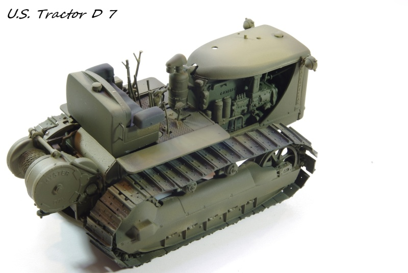 Miniart US tractor D7N 1/35 Imgp6644
